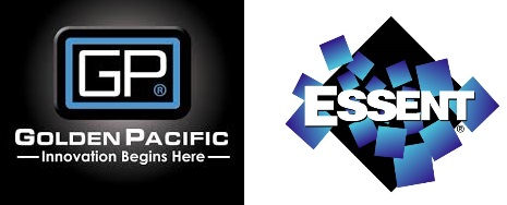 Golden Pacific Logo and Essent Logo
