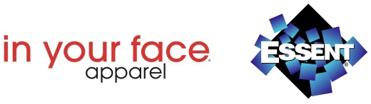 In Your Face Logo and Essent Logo