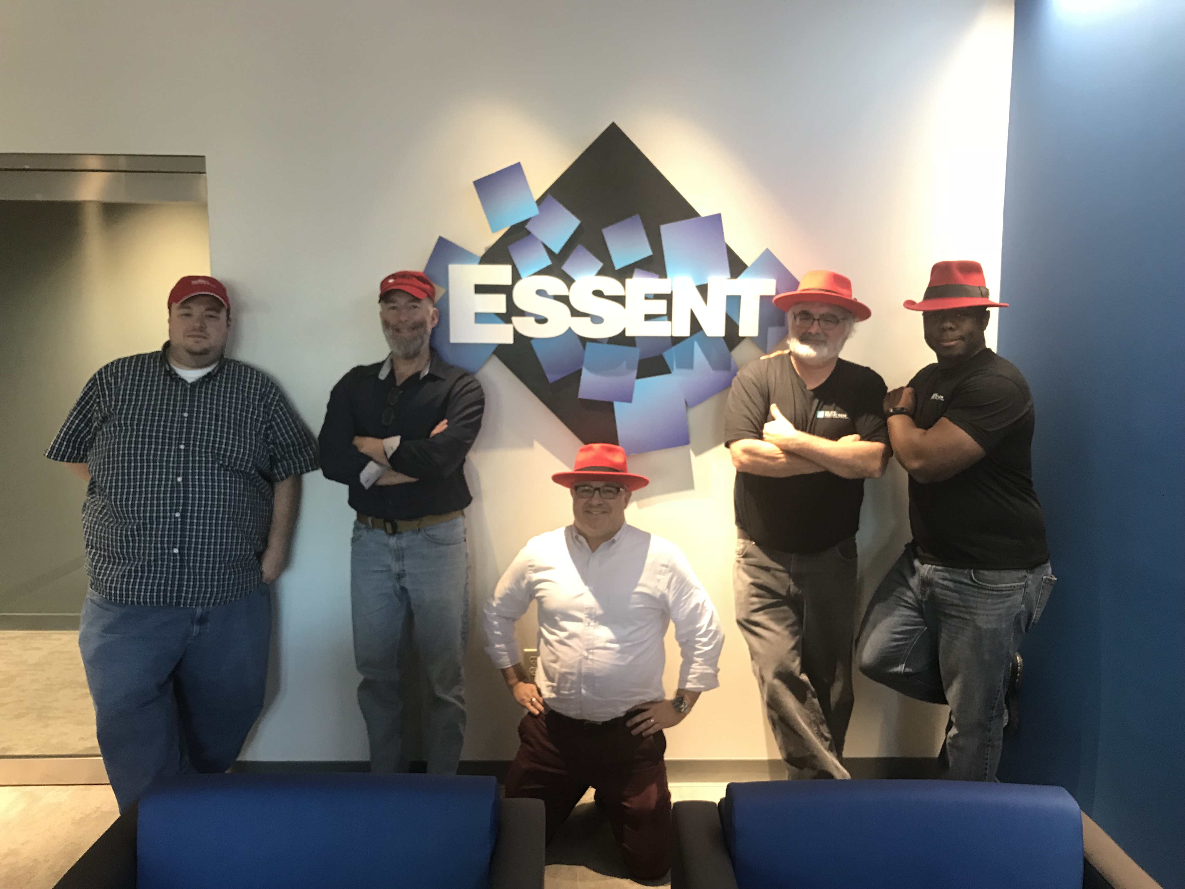 Red Hat Visits Essent