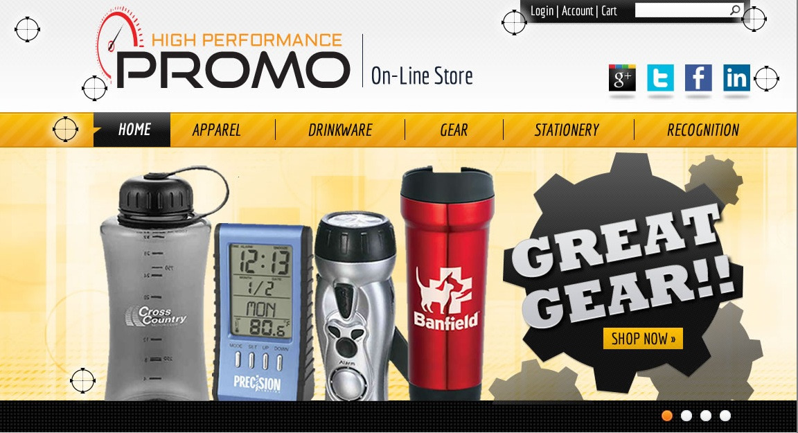 High Performance Promo Demo Site