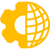 Front and Back Office Integration Icon