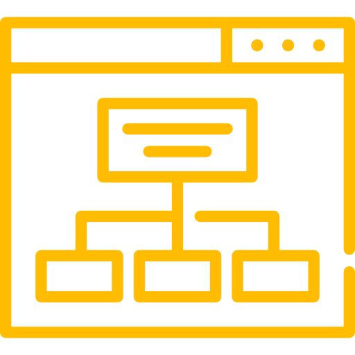 Website Diagram Icon