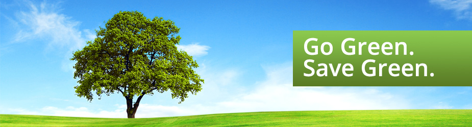 Go Green. Save Green. Essent Eco-Friendly Software Solutions.
